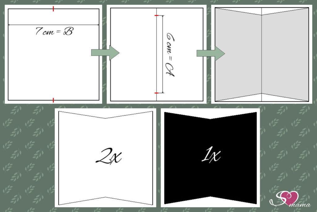 Jak sestavit obrazec se základem ve čtverci - část první