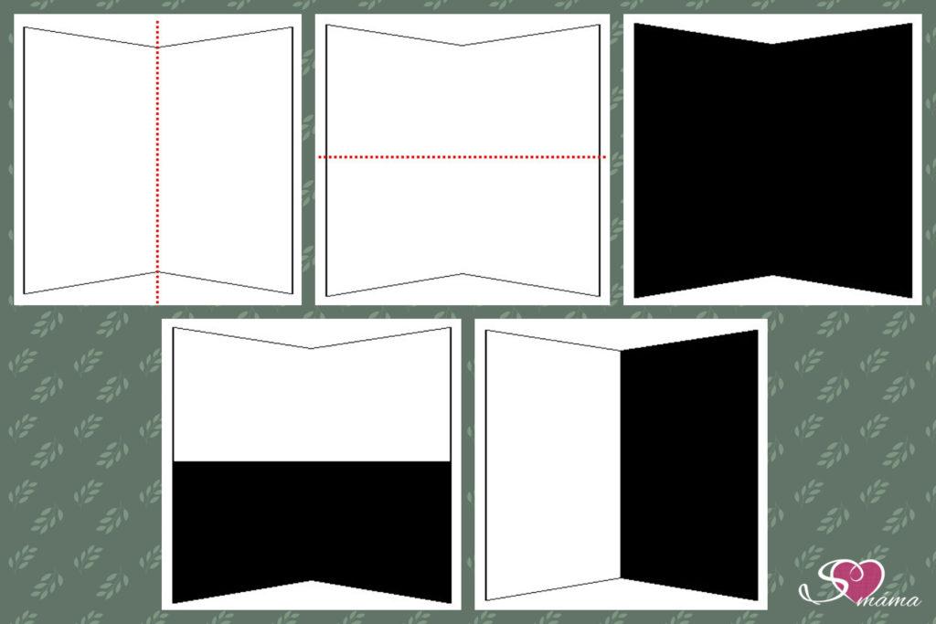 Jak sestavit obrazec se základem ve čtverci - část druhá