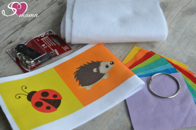 Kartičky se zvířátky - materiál k výrobě